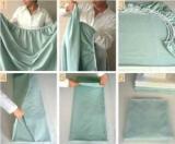 Как гладить простынь с резинкой: простые способы и рекомендации